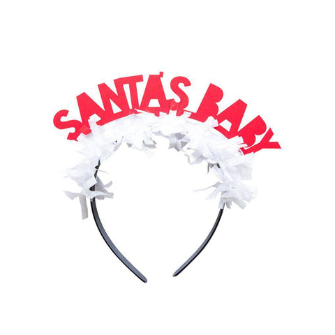 Santa's Baby Headband-Palm & Pine Party Co.