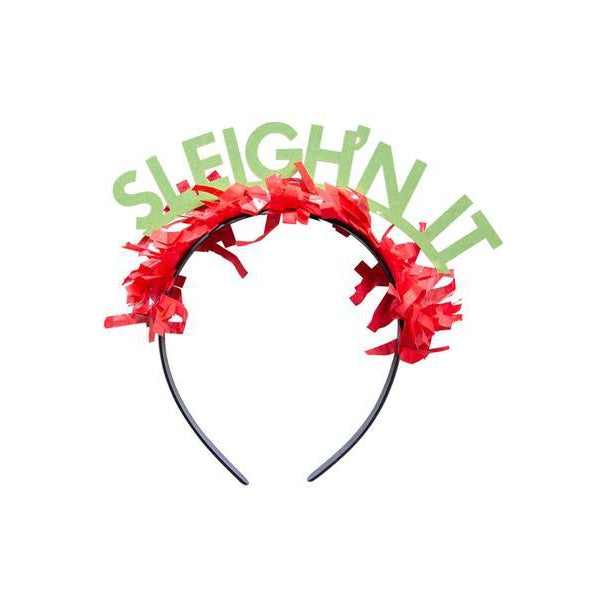 Sleigh'n It Headband-Palm & Pine Party Co.
