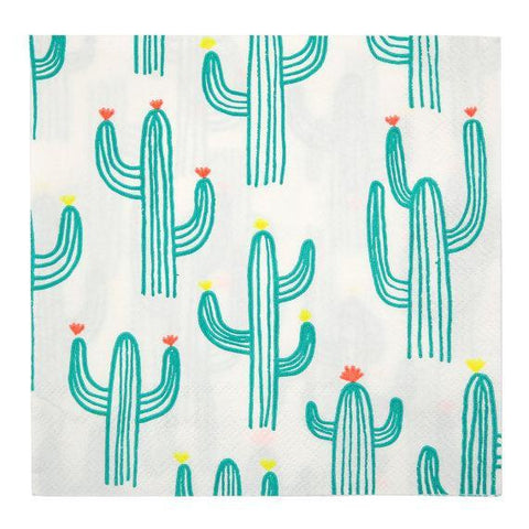 Cactus Napkins (large)-Palm & Pine Party Co.