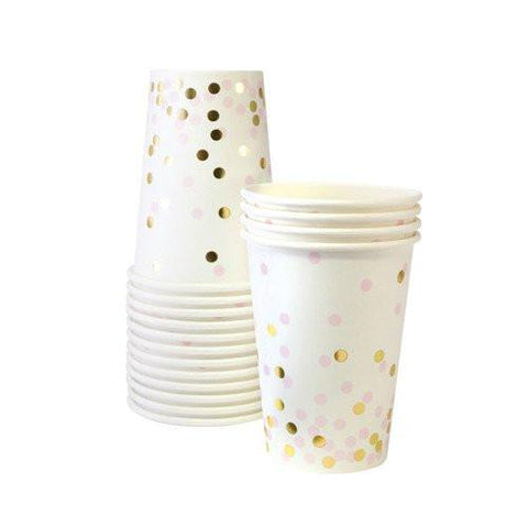 Confetti Party Cup (pink)-Palm & Pine Party Co.
