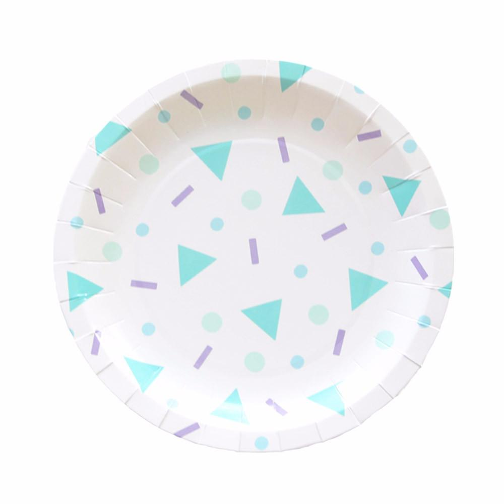 Confetti Pop Plate (small)-Palm & Pine Party Co.