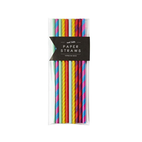 Cool Kid Paper Party Straws-Palm & Pine Party Co.