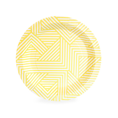 Dessert Plate (hello yellow)-Palm & Pine Party Co.