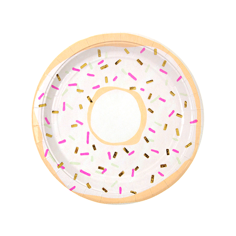 Donut Party Plates-Palm & Pine Party Co.