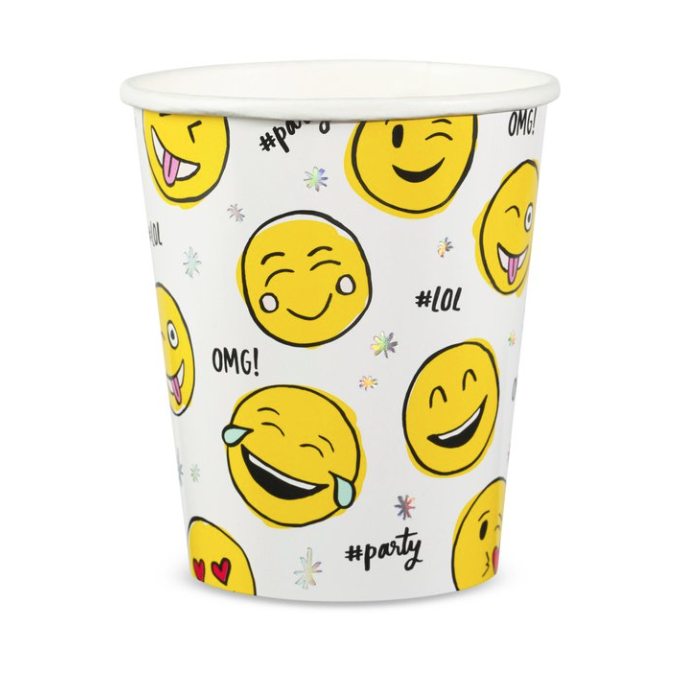 Emoji Party Cups-Palm & Pine Party Co.