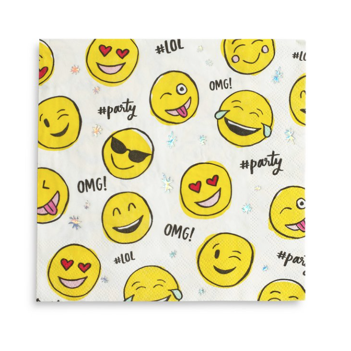 Emoji Party Napkins-Palm & Pine Party Co.