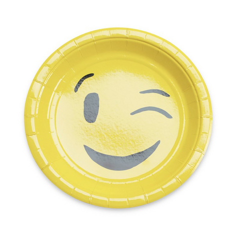 Emoji Party Plates-Palm & Pine