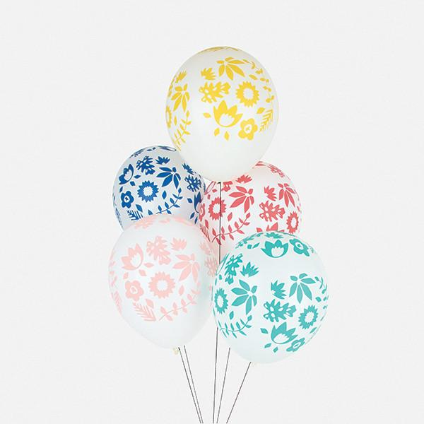 Floral Party Balloons-Palm & Pine Party Co.