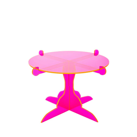 Fluorescent Pink Cupcake Stand-Palm & Pine Party Co.