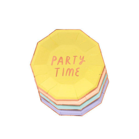 Fun Party Plates (small)-Palm & Pine Party Co.
