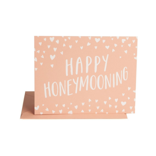 Happy Honeymooning-Palm & Pine
