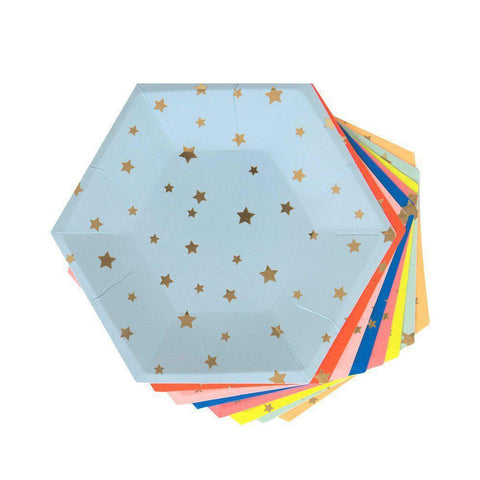 Jazzy Star Plates-Palm & Pine Party Co.