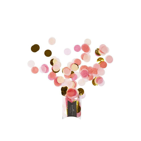 Jumbo Confetti (Pink Shimmer)-Palm & Pine Party Co.