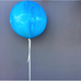 Jumbo Marble Balloon 90cm (blue)-Palm & Pine Party Co.
