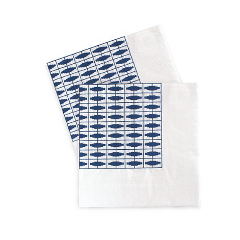 Large Party Napkins (navy)-Palm & Pine Party Co.