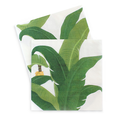 Large Party Napkins (tropical)-Palm & Pine