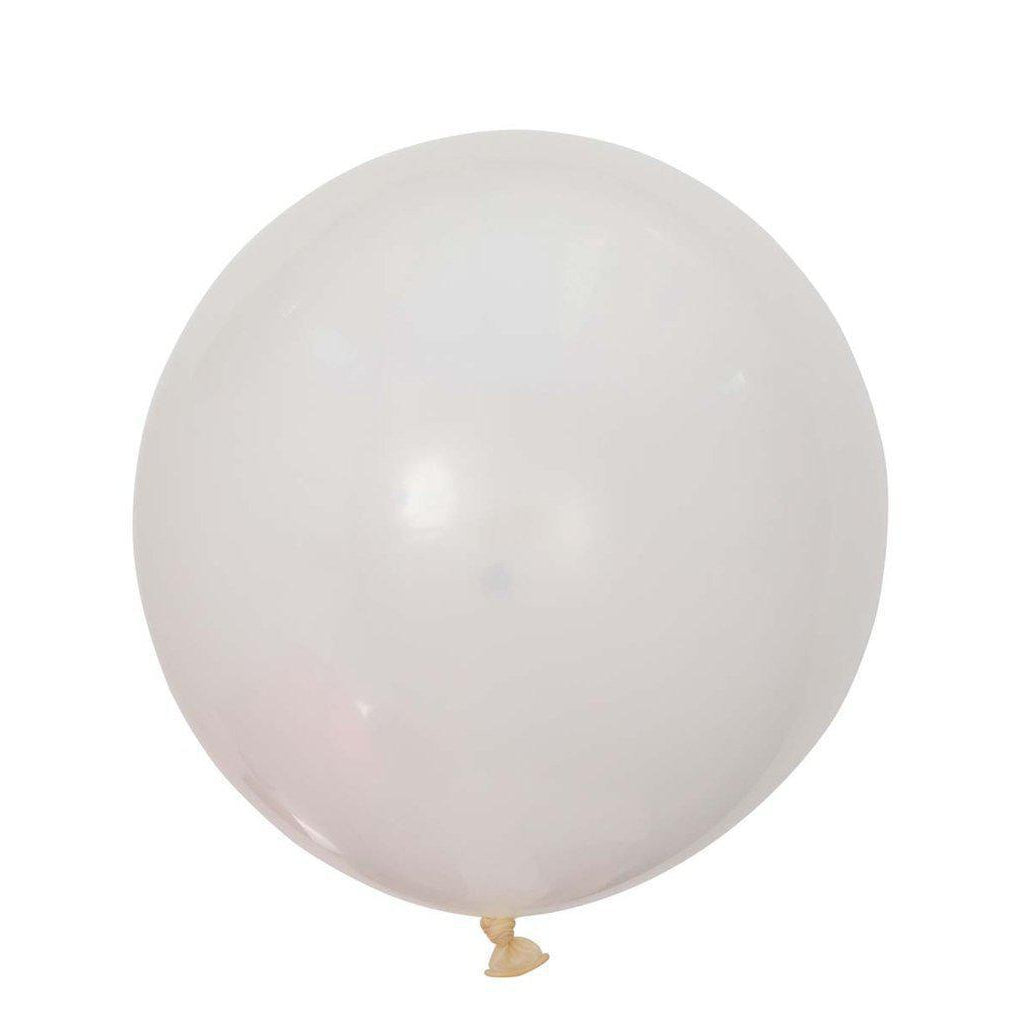 Large Round Balloons 60cm (clear)-Palm & Pine Party Co.