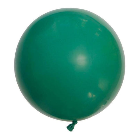 Large Round Balloons 60cm (festive green)-Palm & Pine Party Co.