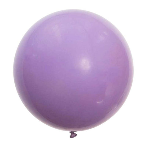 Large Round Balloons 60cm (lavender)-Palm & Pine Party Co.