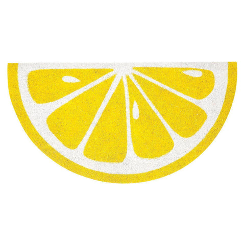 Lemon Door Mat-Palm & Pine Party Co.