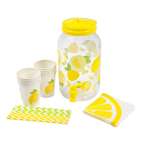 Lemonade Drink Dispenser Party Kit-Palm & Pine Party Co.