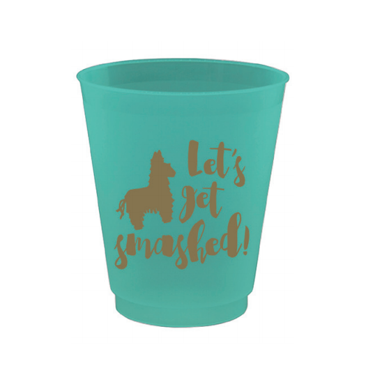 Let's Get Smashed Shot Glasses-Palm & Pine Party Co.