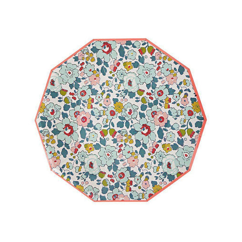 Liberty of London Plates (large)-Palm & Pine Party Co.