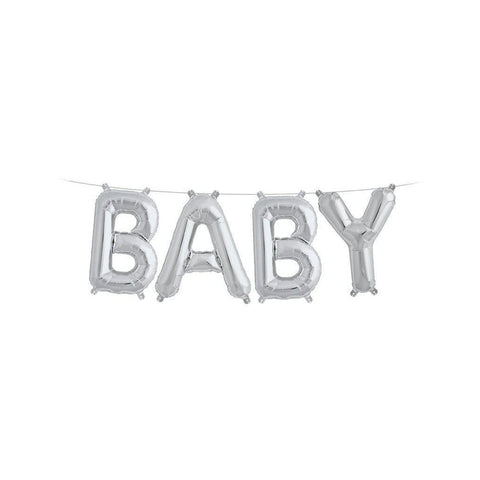 "Mylar 40cm ""Baby"" Balloon Banner-Palm & Pine Party Co."