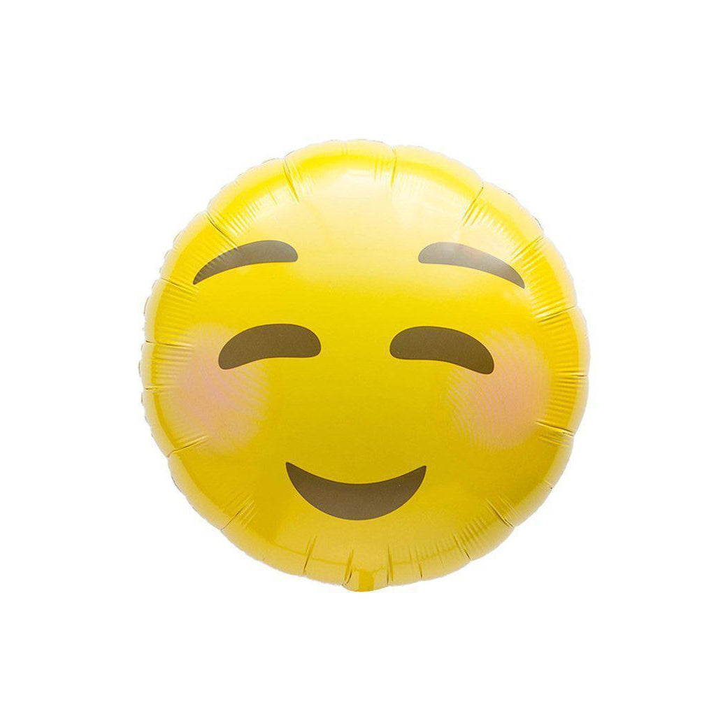 Mylar Emoji Blush Balloon-Palm & Pine Party Co.