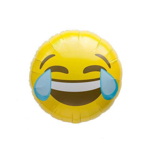 Mylar Emoji Crying Laughing Balloon-Palm & Pine Party Co.