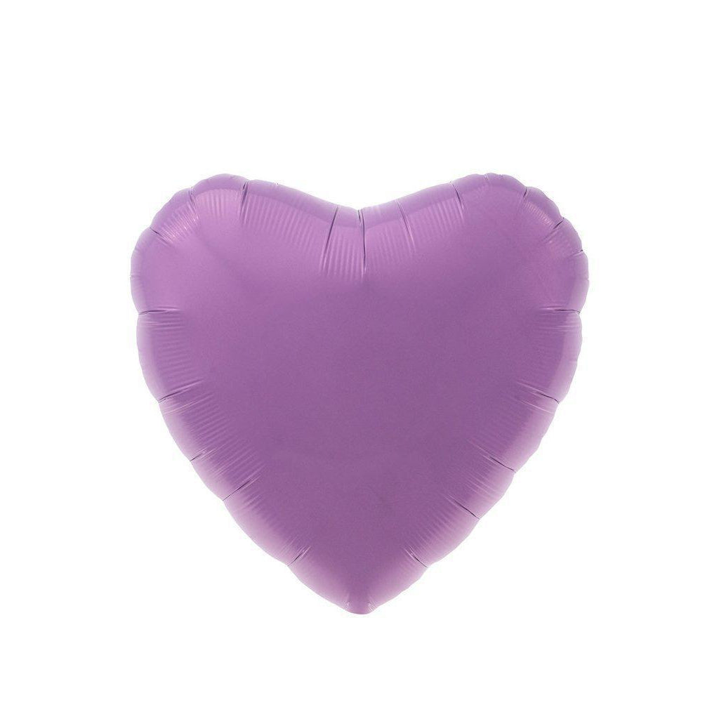 Mylar Heart Balloon (Lilac)-Palm & Pine Party Co.