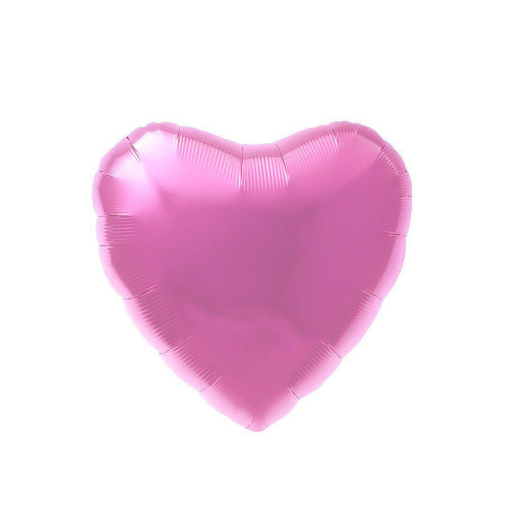 Mylar Heart Balloon (Pink)-Palm & Pine Party Co.