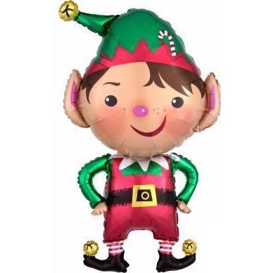 Mylar Jolly Elf Balloon-Palm & Pine Party Co.