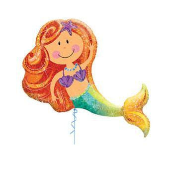 Mylar Mermaid Balloon-Palm & Pine Party Co.