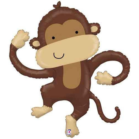 Mylar Monkey Balloon-Palm & Pine Party Co.