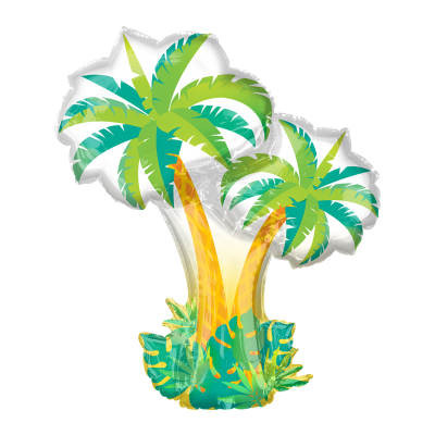Mylar Palm Trees Balloon-Palm & Pine Party Co.