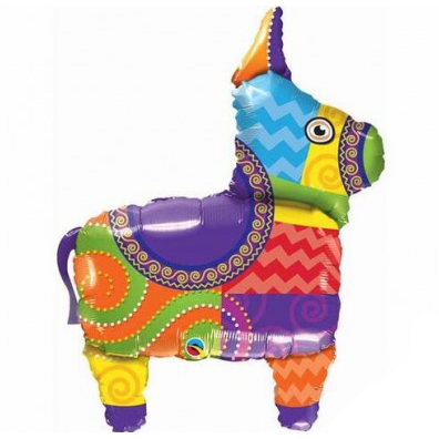 Mylar Pinata Balloon-Palm & Pine Party Co.
