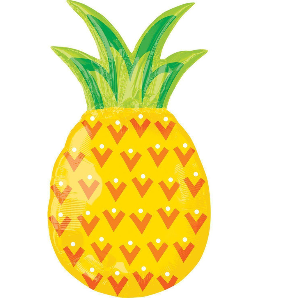Mylar Pineapple Tropic Balloon-Palm & Pine Party Co.