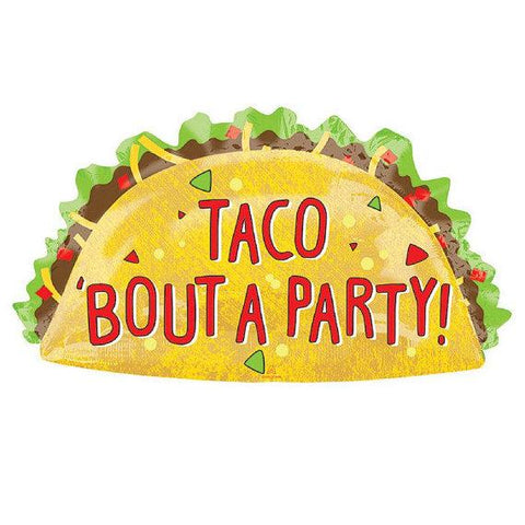 Mylar Taco Balloon-Palm & Pine Party Co.