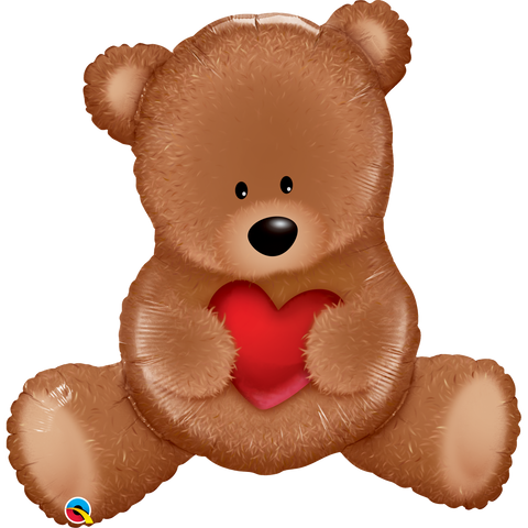 Mylar Teddy Bear Love Balloon-Palm & Pine Party Co.