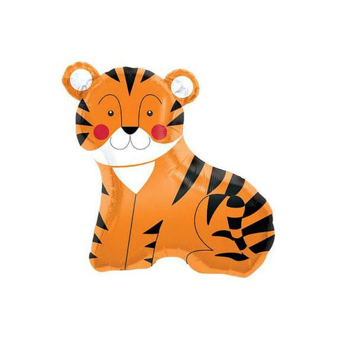 Mylar Tiger Balloon-Palm & Pine Party Co.