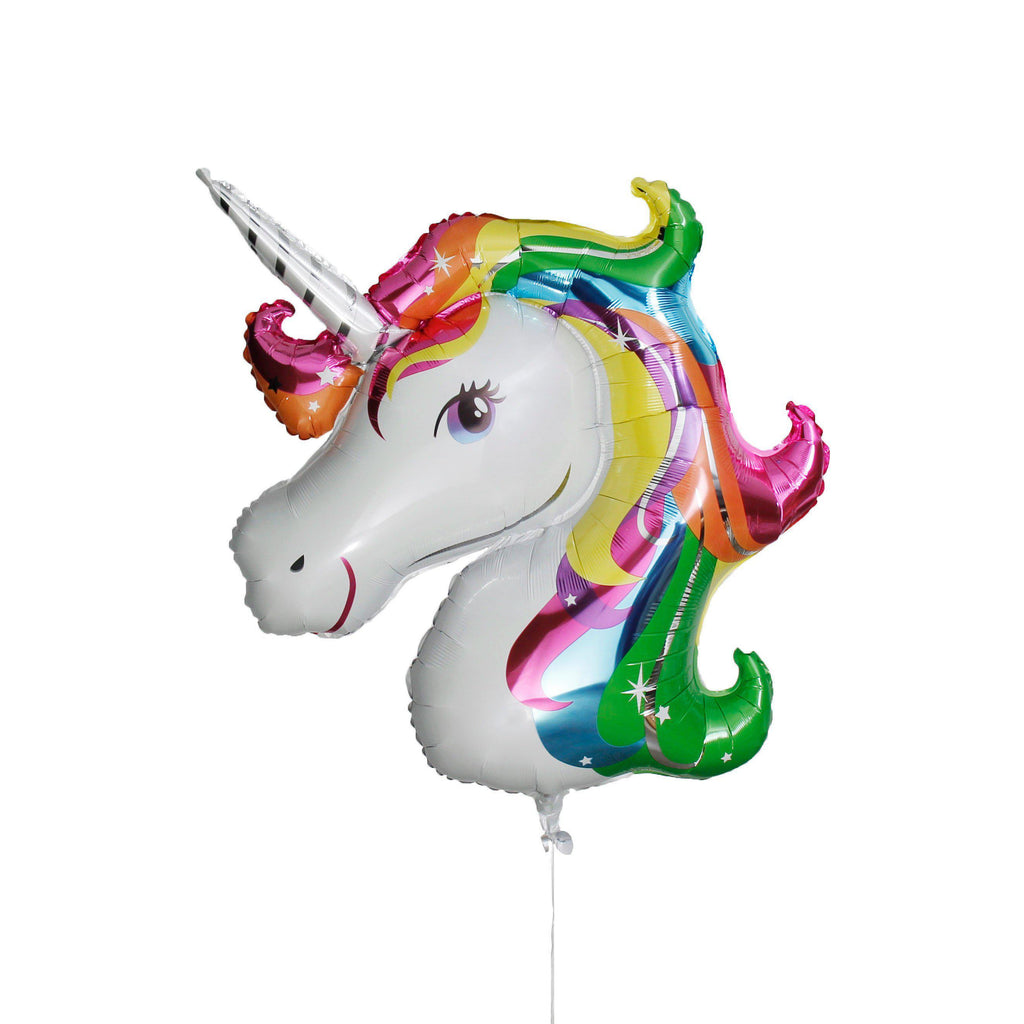 Mylar Unicorn Rainbow Balloon-Palm & Pine Party Co.