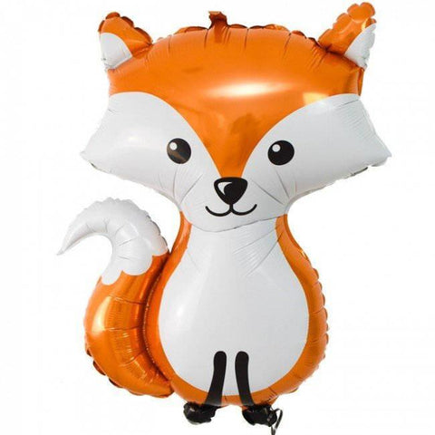 Mylar Woodland Fox Balloon-Palm & Pine Party Co.