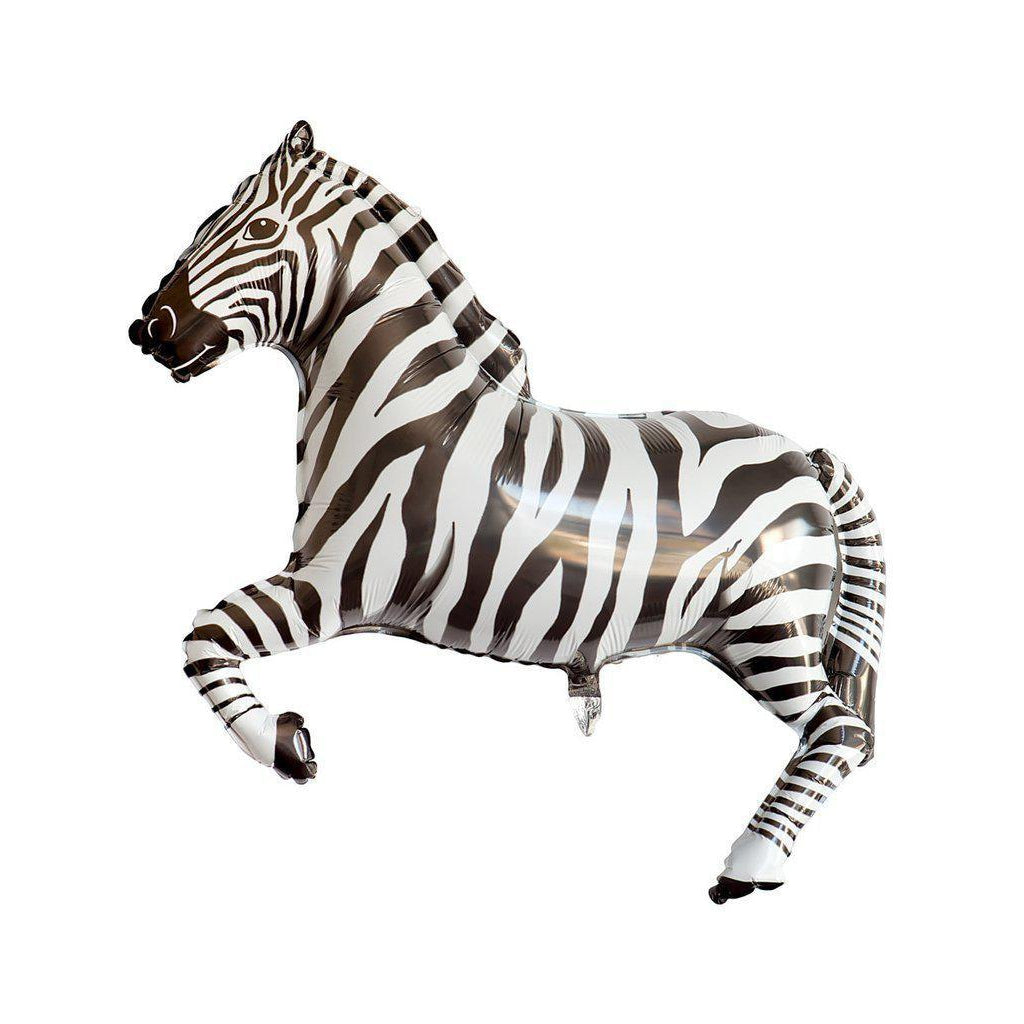 Mylar Zebra Balloon-Palm & Pine Party Co.