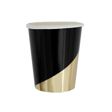 Noir Party Cups-Palm & Pine Party Co.