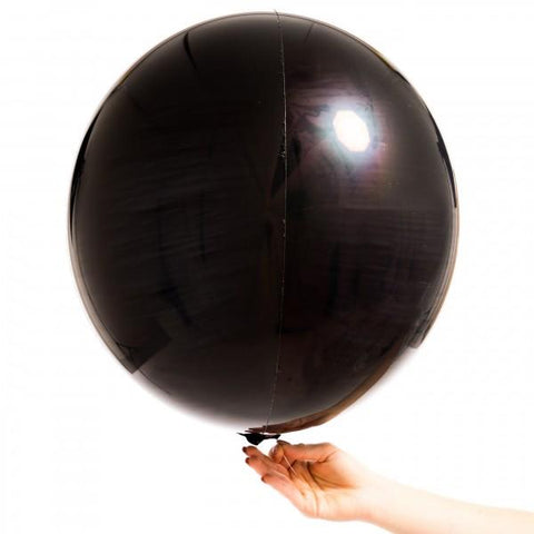 Orbz Balloon Black-Palm & Pine Party Co.
