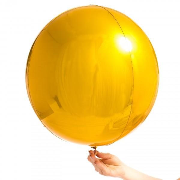 Orbz Balloon Gold-Palm & Pine Party Co.