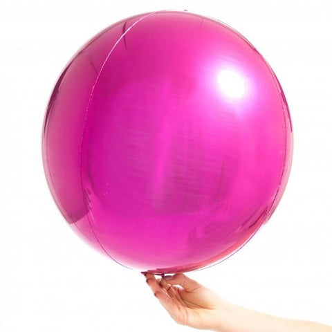Orbz Balloon Magenta-Palm & Pine Party Co.