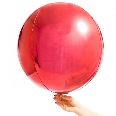 Orbz Balloon Red-Palm & Pine Party Co.
