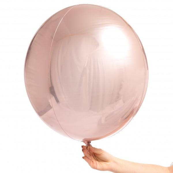 Orbz Balloon Rose Gold-Palm & Pine Party Co.